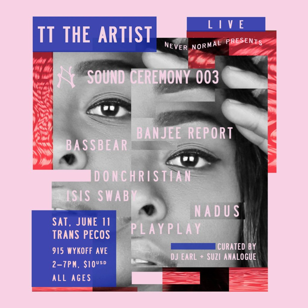 Suzi Analogue threw a party & had me come play w/ TT the Artist, Nadus, & more (NYC)